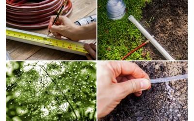 Системы полива и технология орошения садов